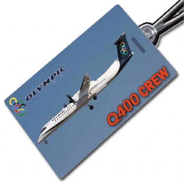 Olympic Air Q400 Crew Tag